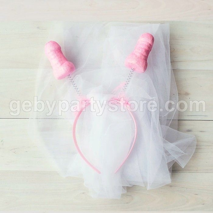 Bridal Shower Bando Pink Willy