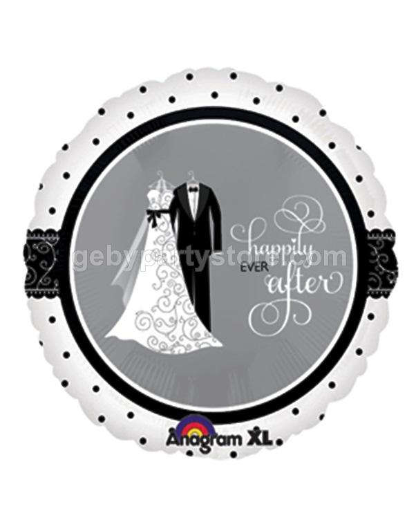 HAPPILY EVER AFTER FOIL BALLOON