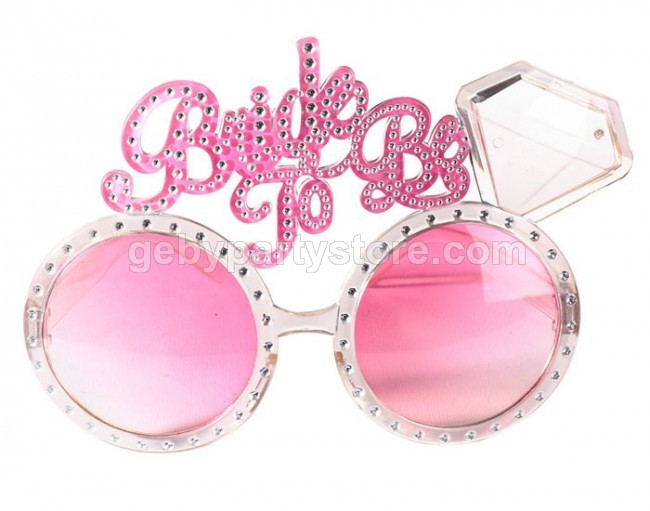 BRIDE TO BE DIAMOND GLASSES