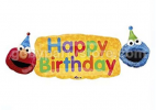BIRTHDAY ELMO FUN JUMBO FOIL  42""